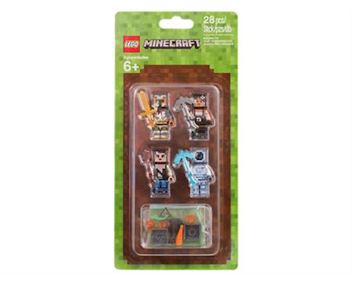 Minecraft Minecraft Skin Pack 2 853610 Buildinig Kit (28 Piece)