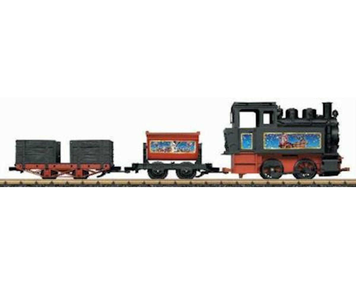 L.G.B. Trains LGB 90203 G Scale Battery-Powered Starter Set with Sound Christmas Theme