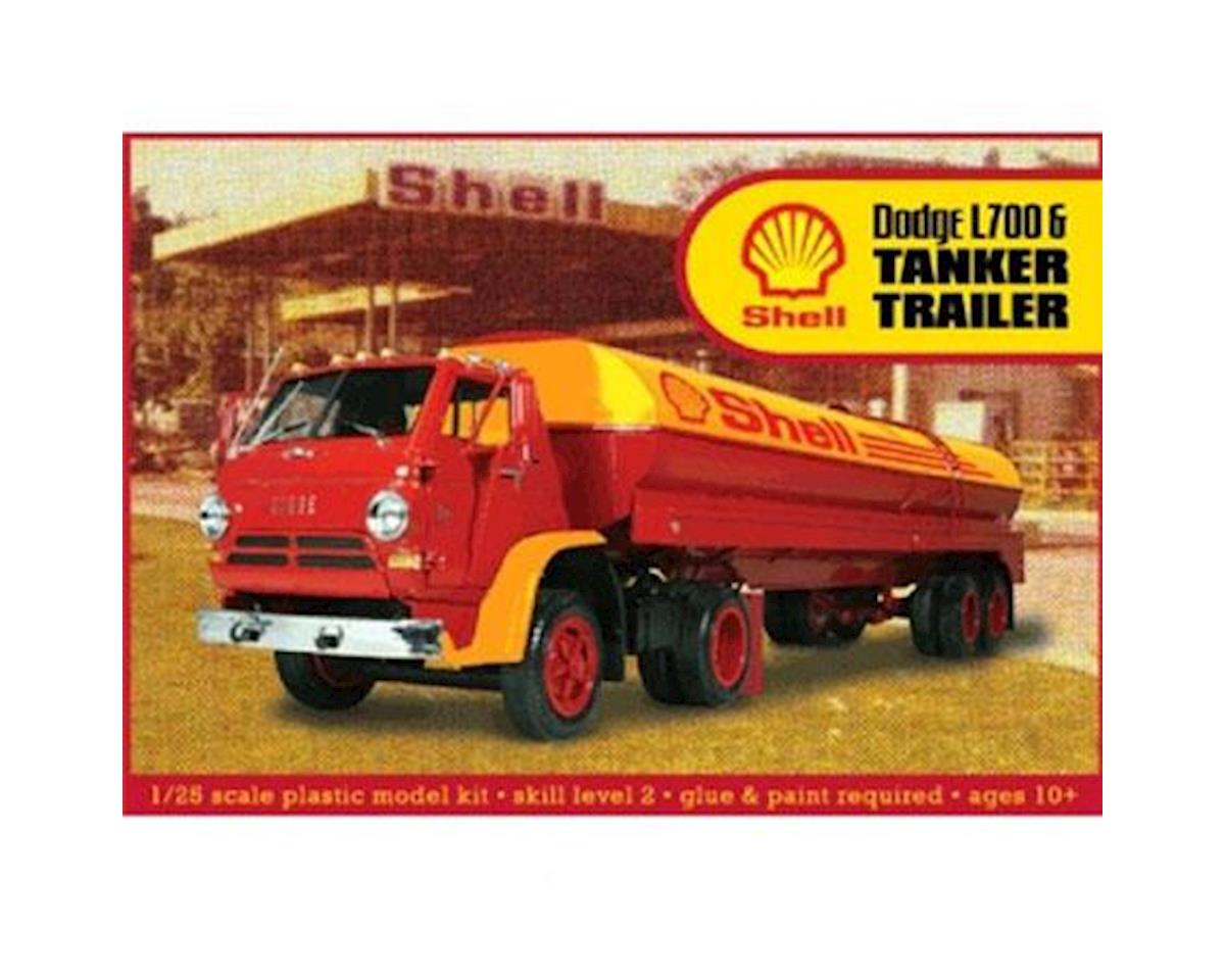 J Lloyd International 1/25 Dodge L700 w/Shell Tanker