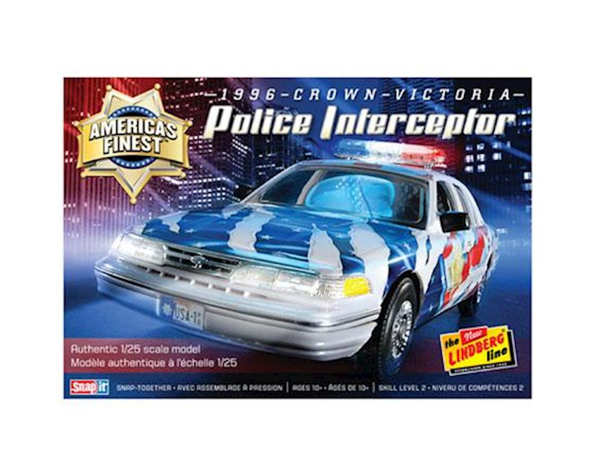 Lindberg Models America's Finest Crown Victoria Police Cruiser