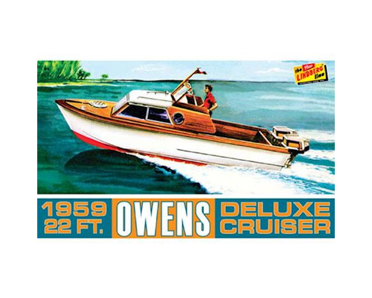 J Lloyd International Owens Outboard Cruiser Boat