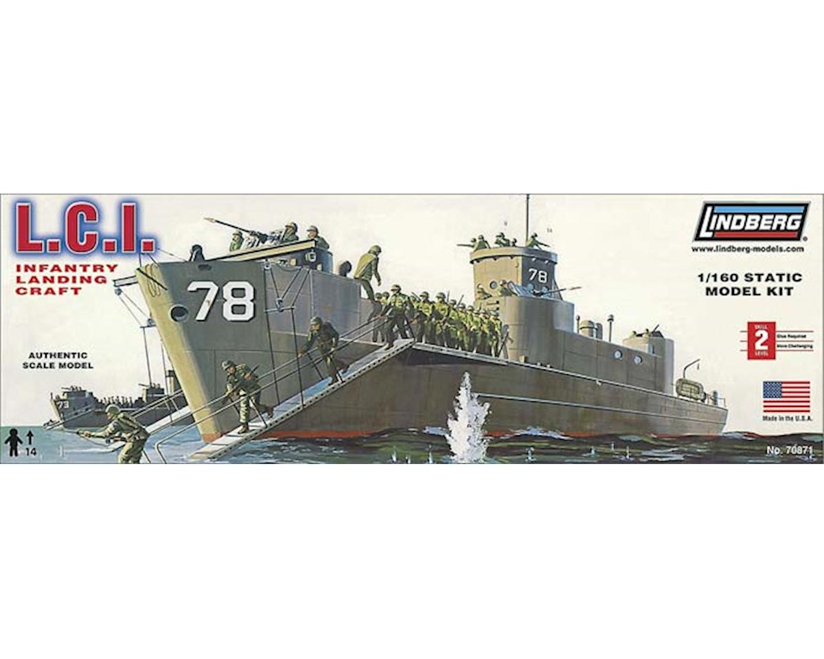 J Lloyd International Lindberg Models  1/160 Lci Infantry Landing Craft