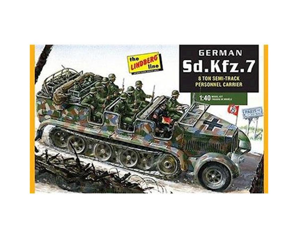 1/40 German Half-Track Personnel Carrier