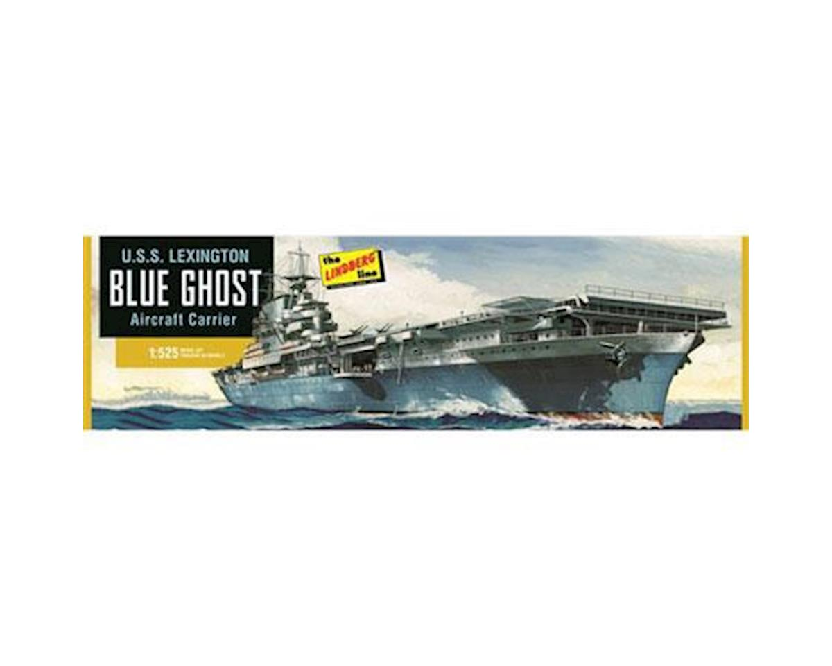 J Lloyd International 1/525 USS Lexington Aircraft Carrier - Blue Ghost