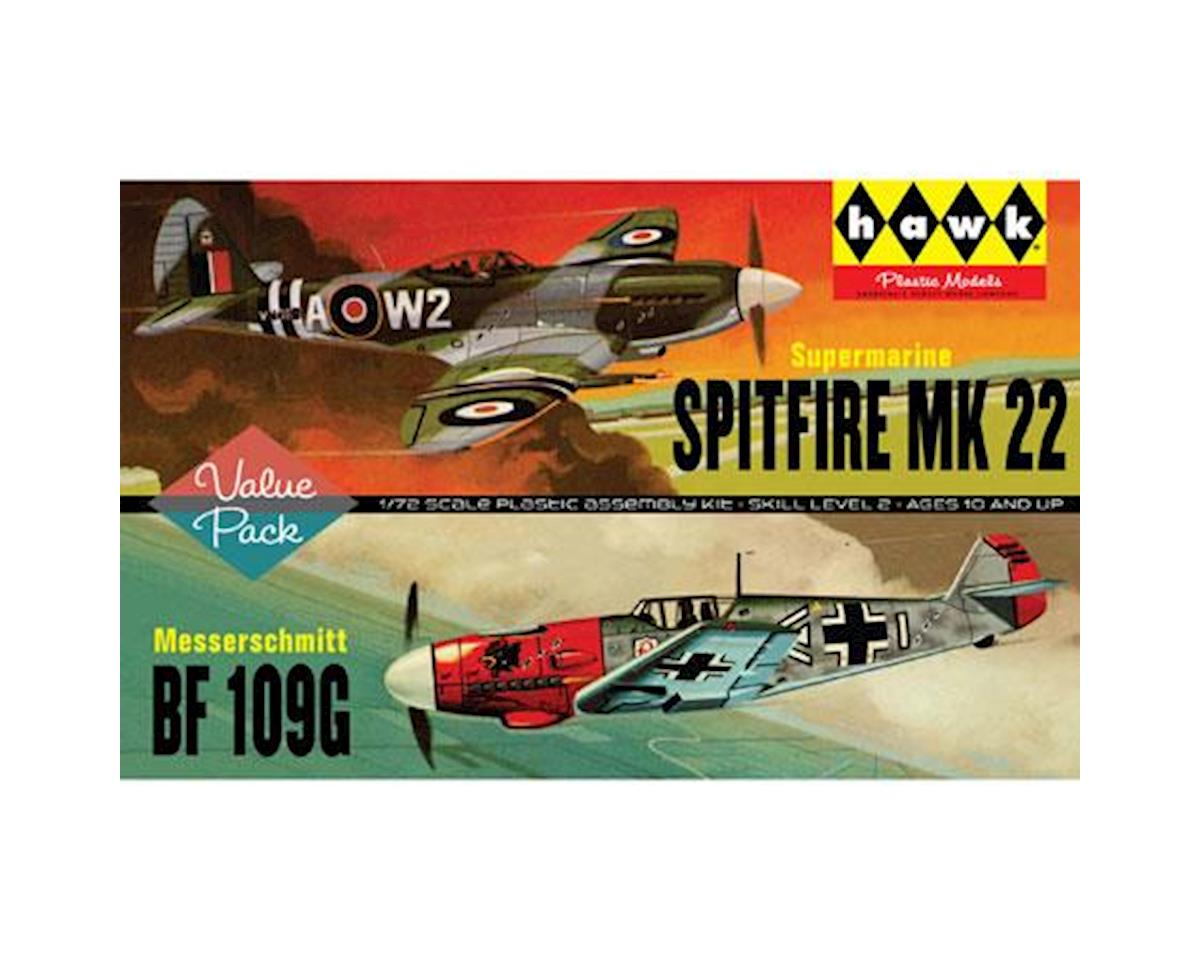J Lloyd International Spitfire/ME109 - 2 Pack