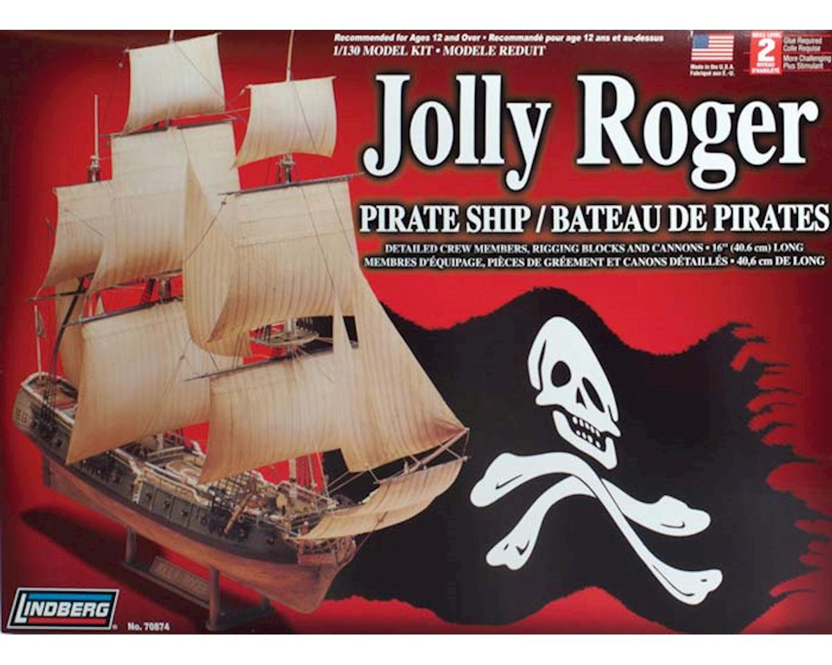 J Lloyd International Lindberg Models  1/130 Jolly Roger Pirate Ship