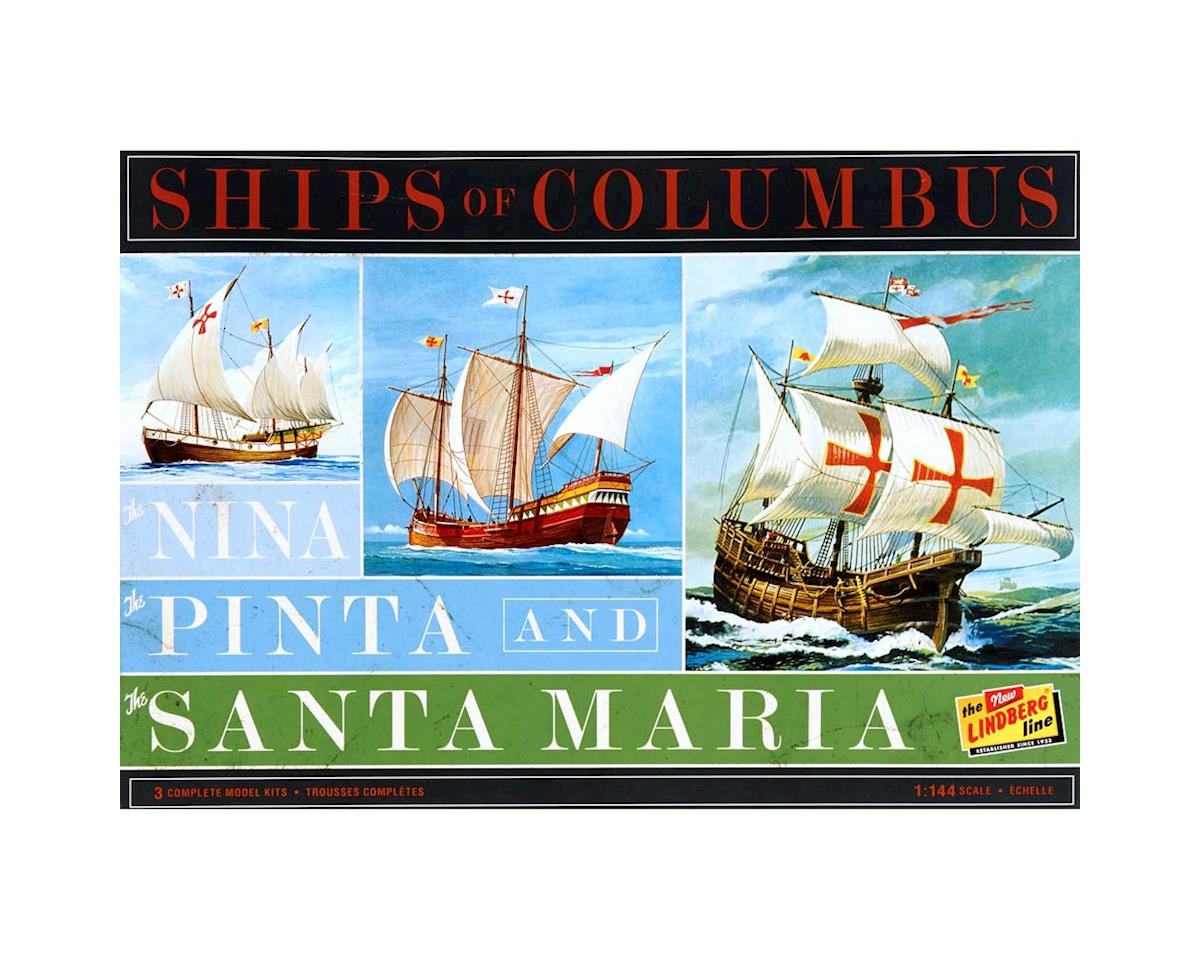 J Lloyd International HL223/12 1/144 Nina/Pinta/Santa Maria (3 Pack)