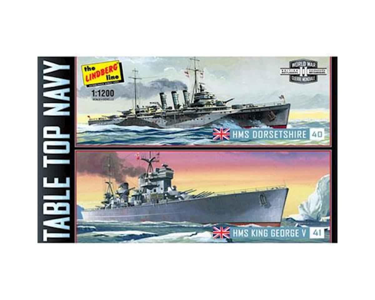 1/1200 Tabletop Navy King George/Dorsetshire