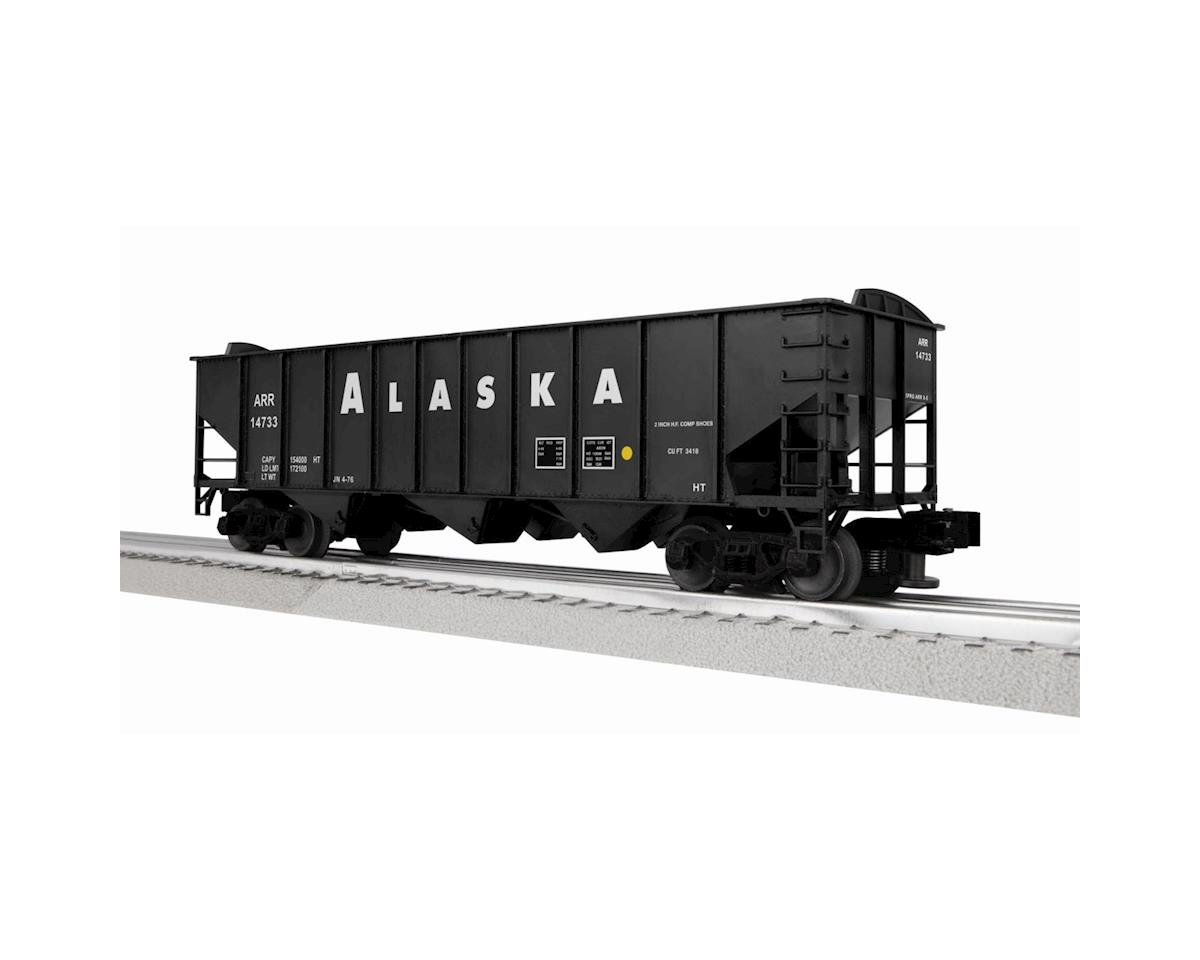 Lionel O-27 3-Bay 9-Panel Hopper, ARR (6)