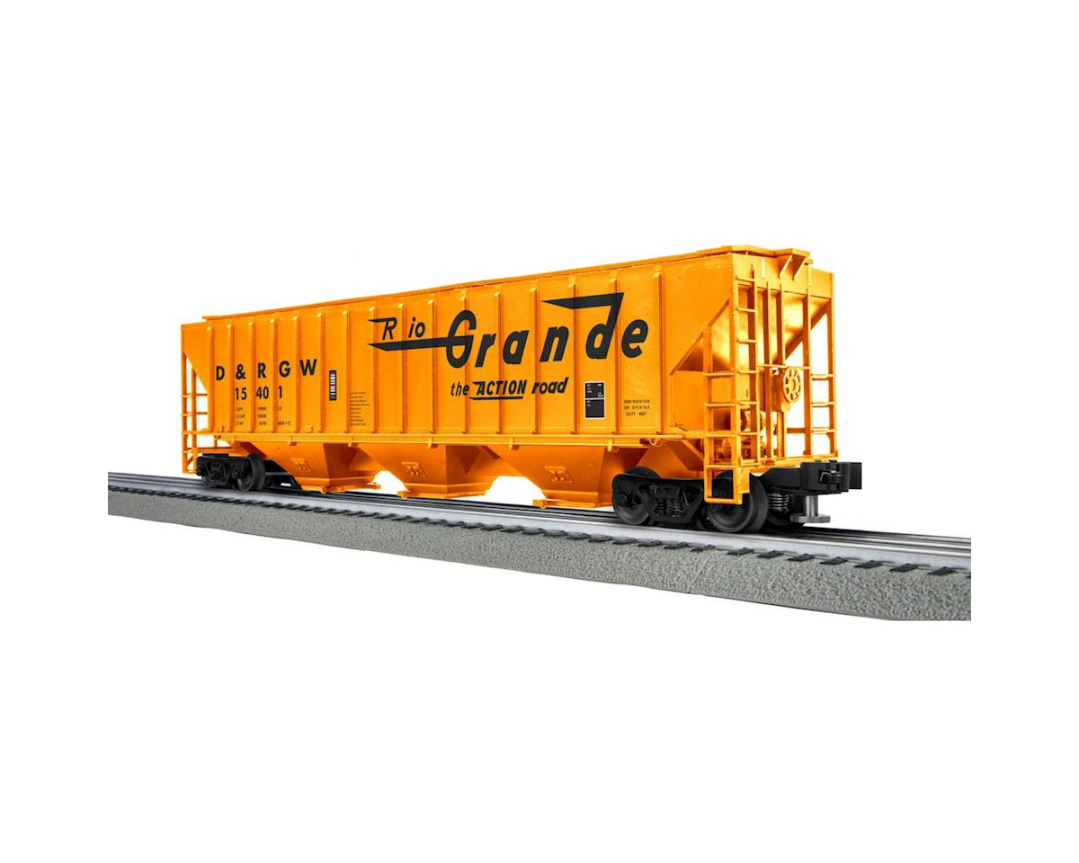 Lionel O-27 PS-2CD Covered  Hopper, D&RGW (6)