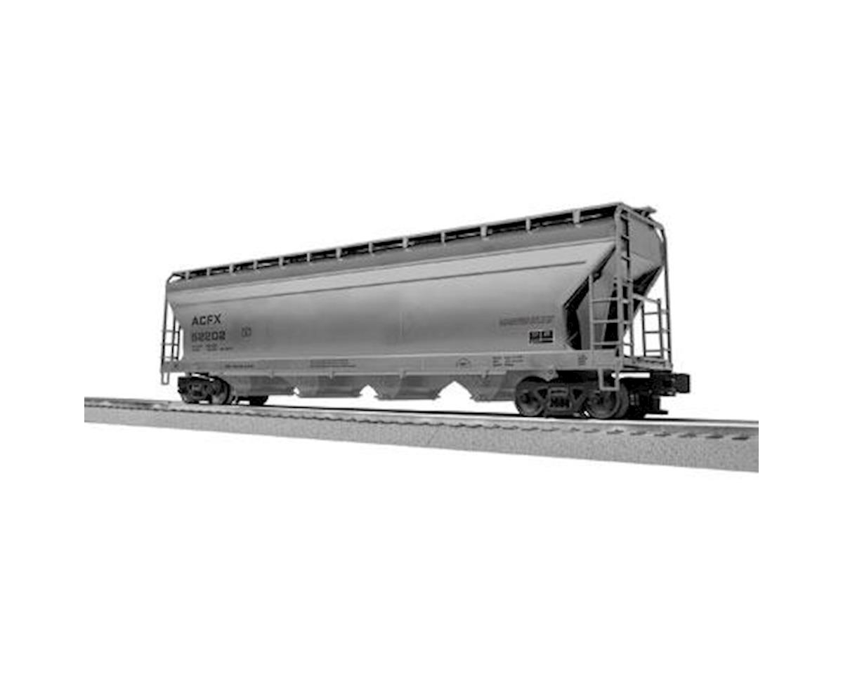 Lionel O-27 ACF 4-Bay Covered Hopper, ACFX (6)