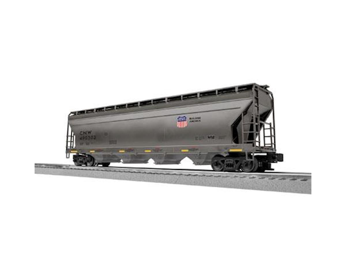 Lionel O-27 ACF 4-Bay Covered Hopper, C&NW/UP (6)