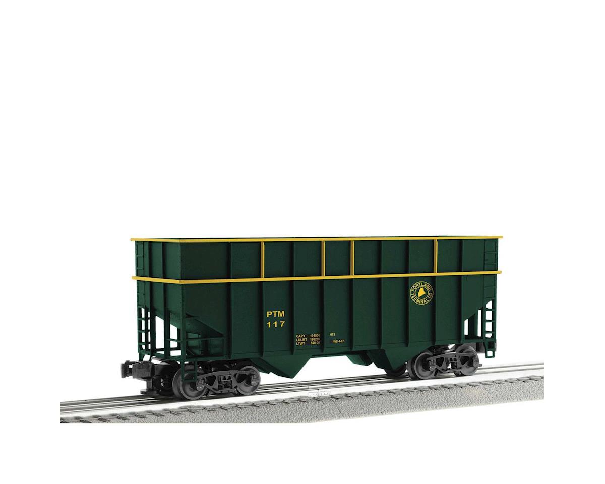 Lionel O ACF 3-Bay Woodchip Hopper, PTM (6)