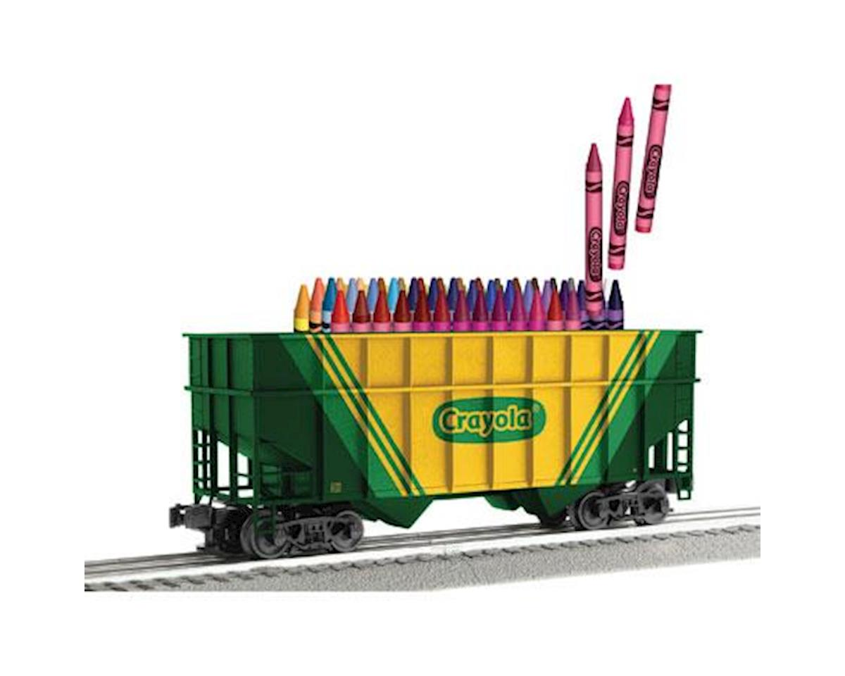 O-27 2-Bay Hopper, Crayola by Lionel