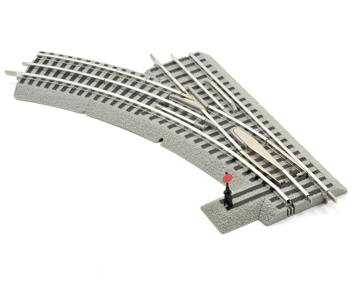 O-36 FasTrack Manual Left-Hand Switch by Lionel