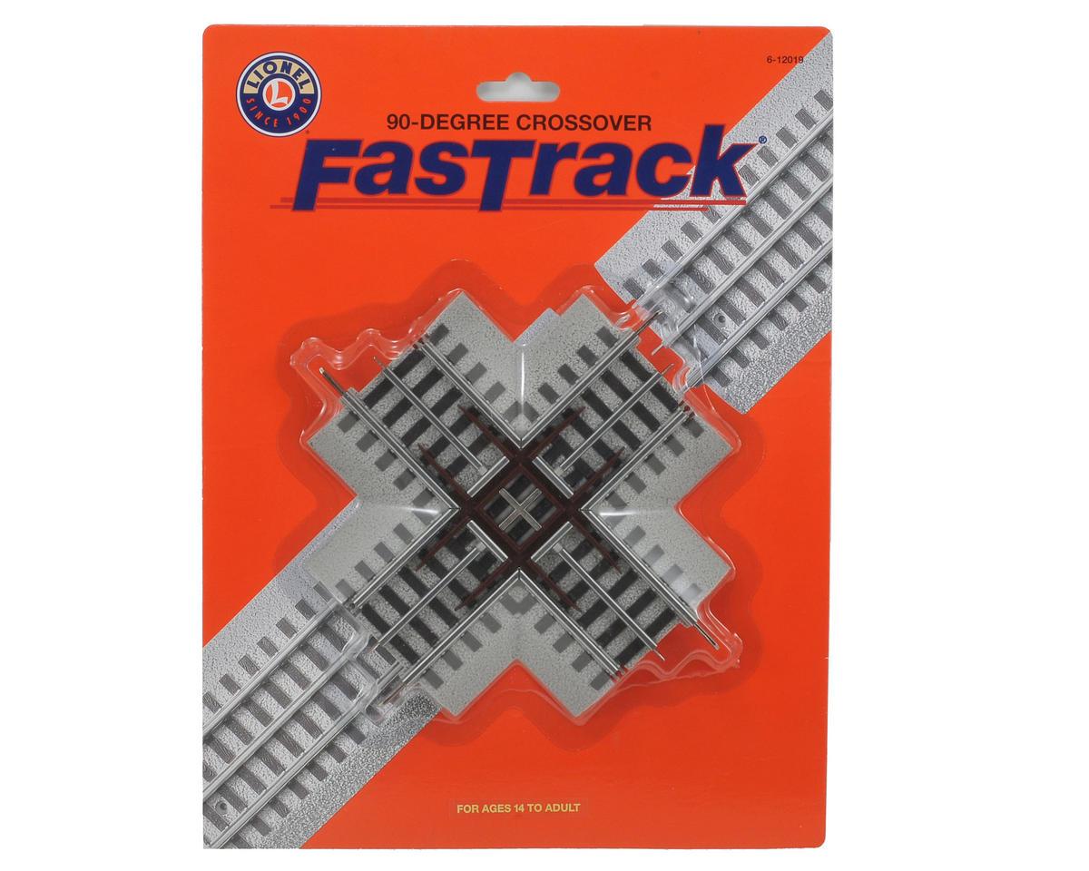 Lionel O FasTrack 90 Degree Crossover