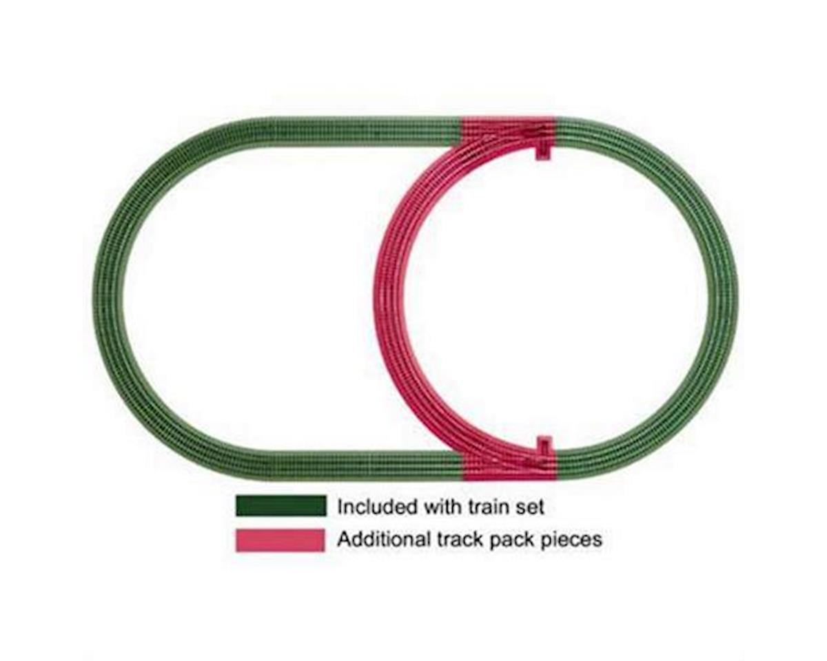 Lionel O-36 FasTrack Inner Passing Loop Track Pack