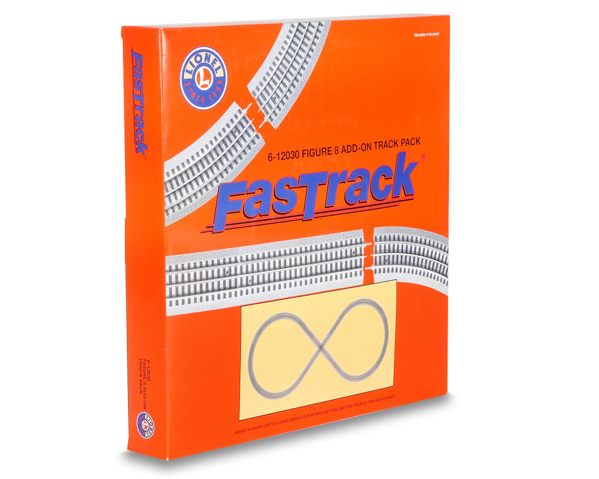 Lionel O-36 FasTrack Figure 8 Track Pack