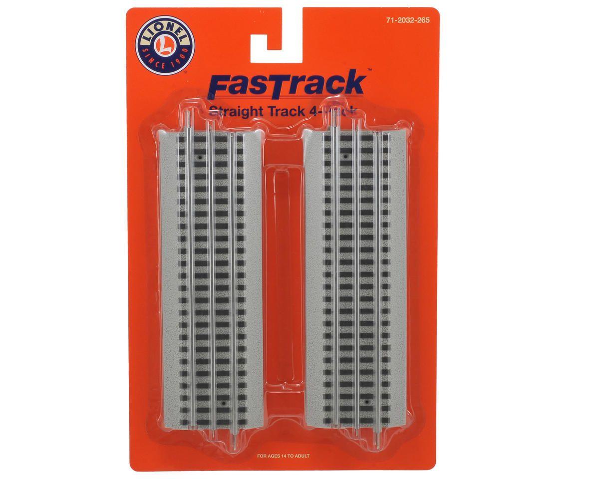 O -Scale Fas Track Straight Track (4)
