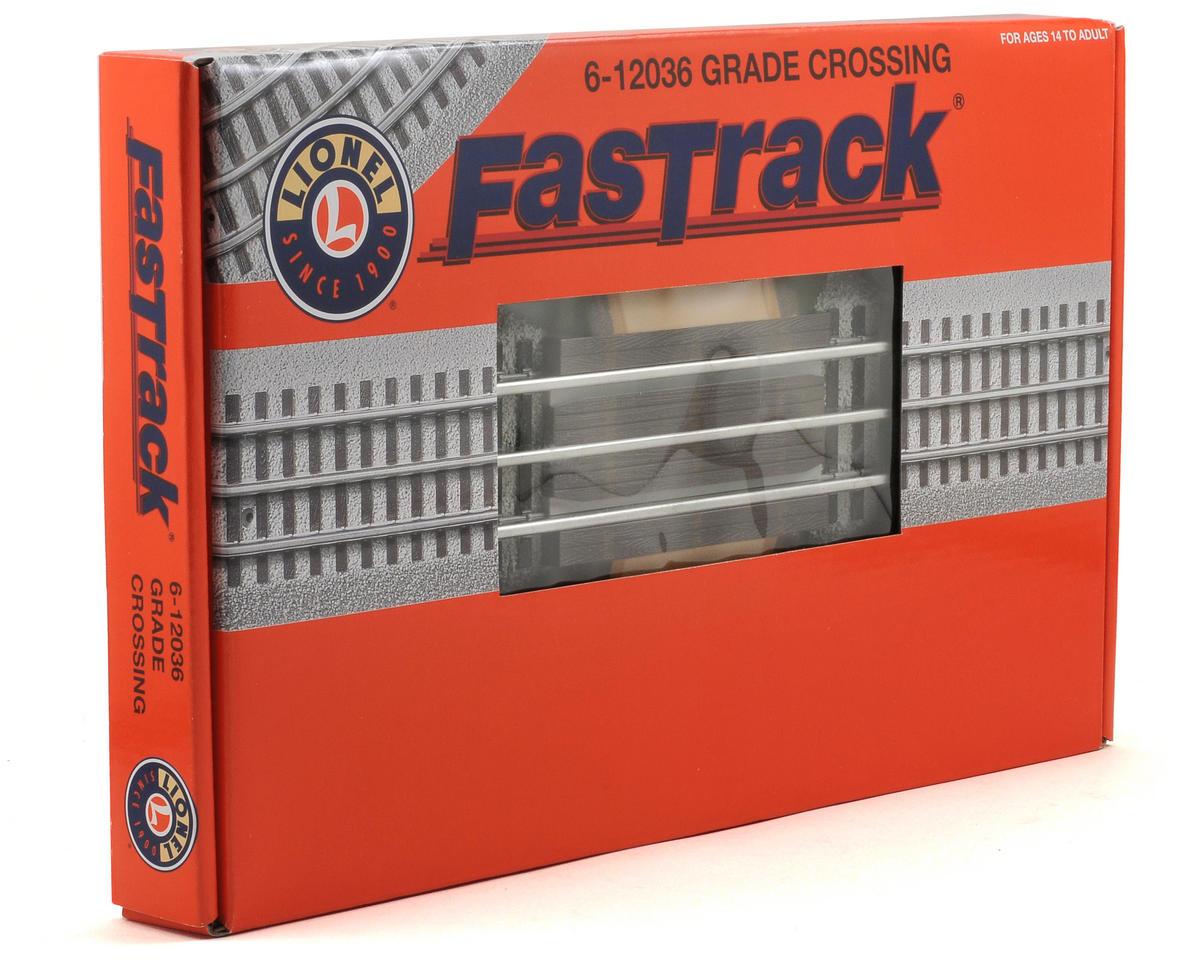 Lionel O FasTrack Grade Crossing Track Set (2)