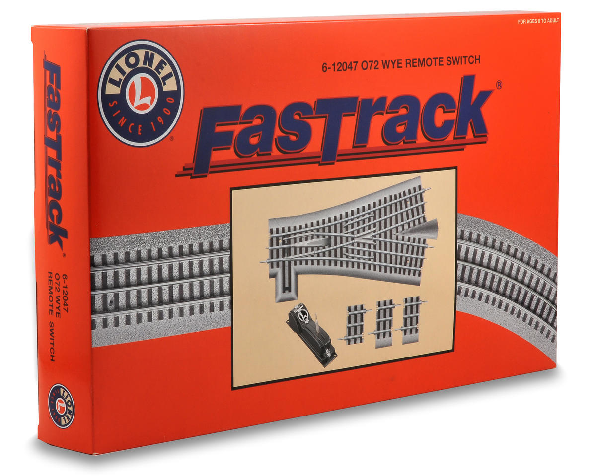 Lionel O-72 FasTrack Remote Wye Switch