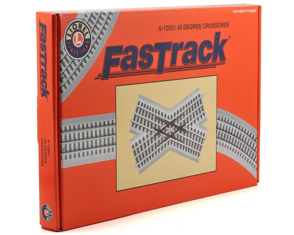 Lionel O FasTrack 45 Degree Crossover