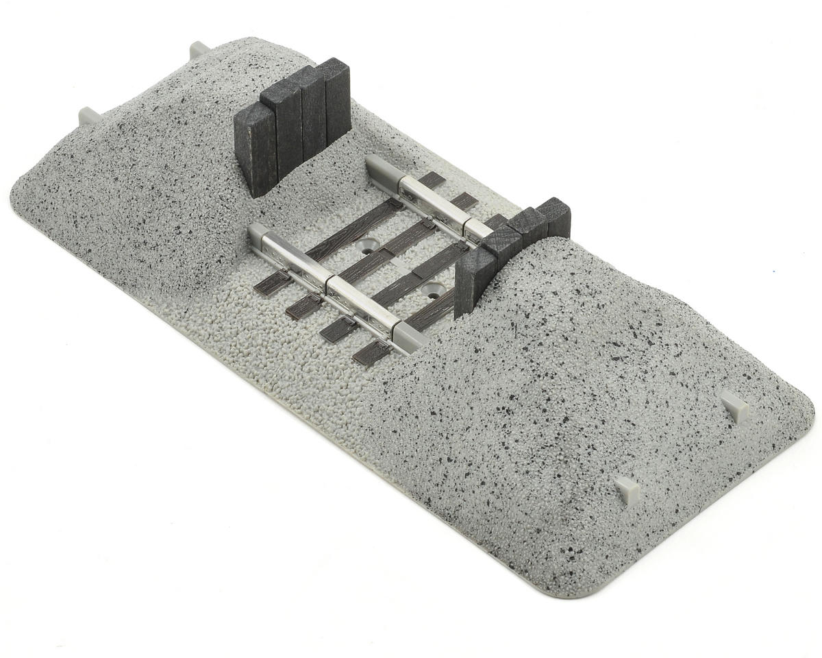 Lionel O FasTrack Earthen Bumper Set (2)