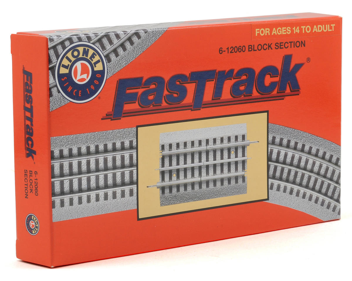 Surprising Lionel O Fastrack Block Section Lnl612060 Toys Hobbies Amain Wiring 101 Mentrastrewellnesstrialsorg