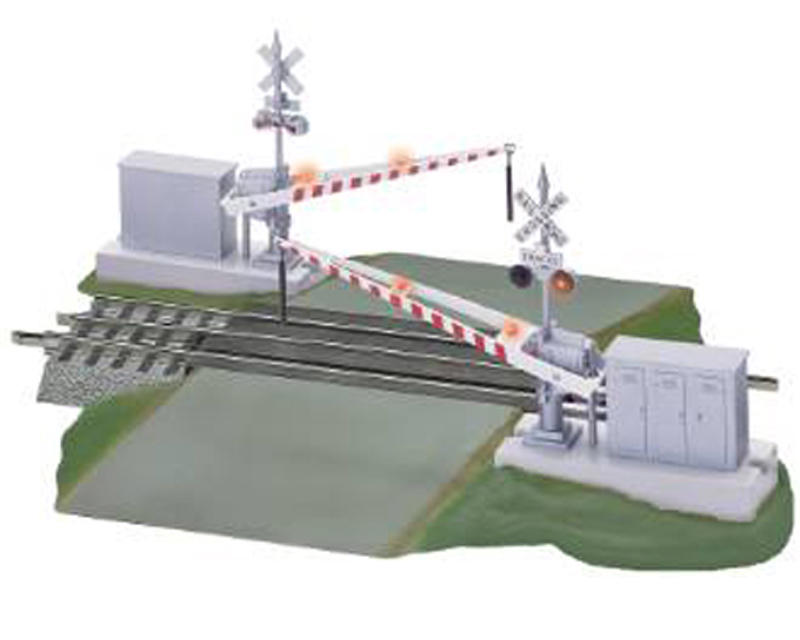 Lionel O Grade Crossing w/Gates & Flashers