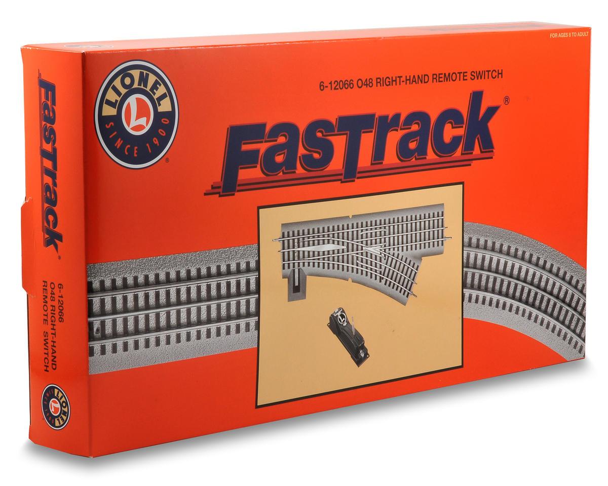 Lionel O-48 FasTrack Remote Right-Hand Switch