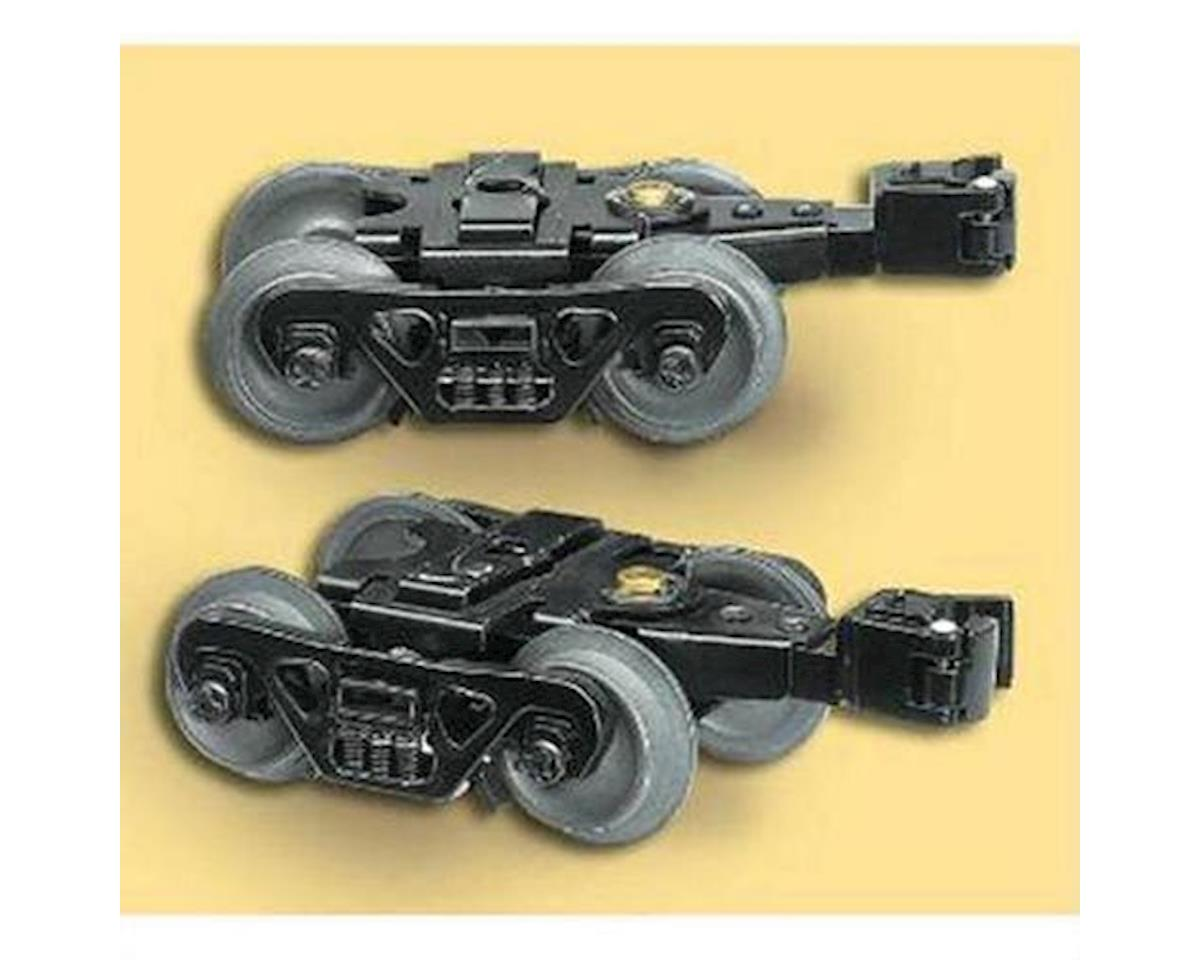 O Die-Cast Sprung Trucks w/Rotating Bearings by Lionel