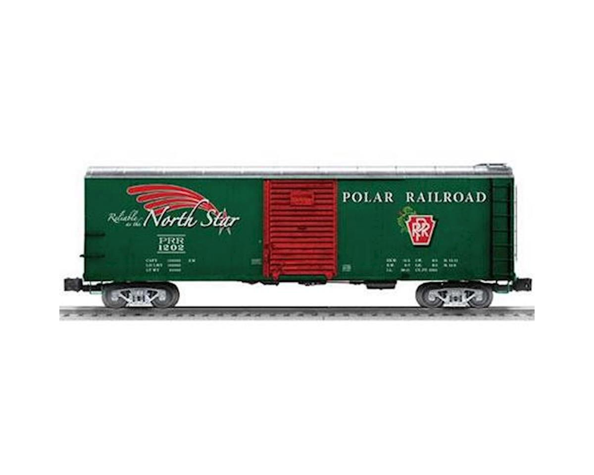 Lionel O Rounded Roof Box, Polar Railroad