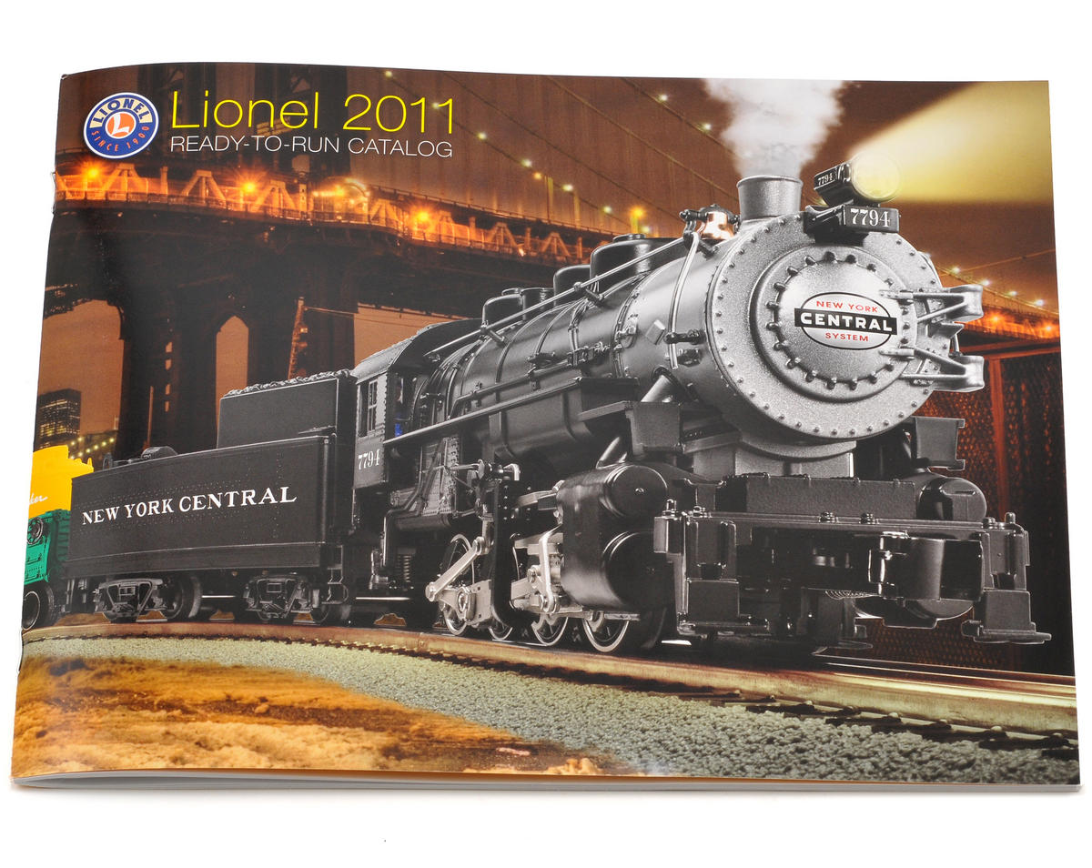 Lionel 2011 Ready To Run Catalog (FREE!)