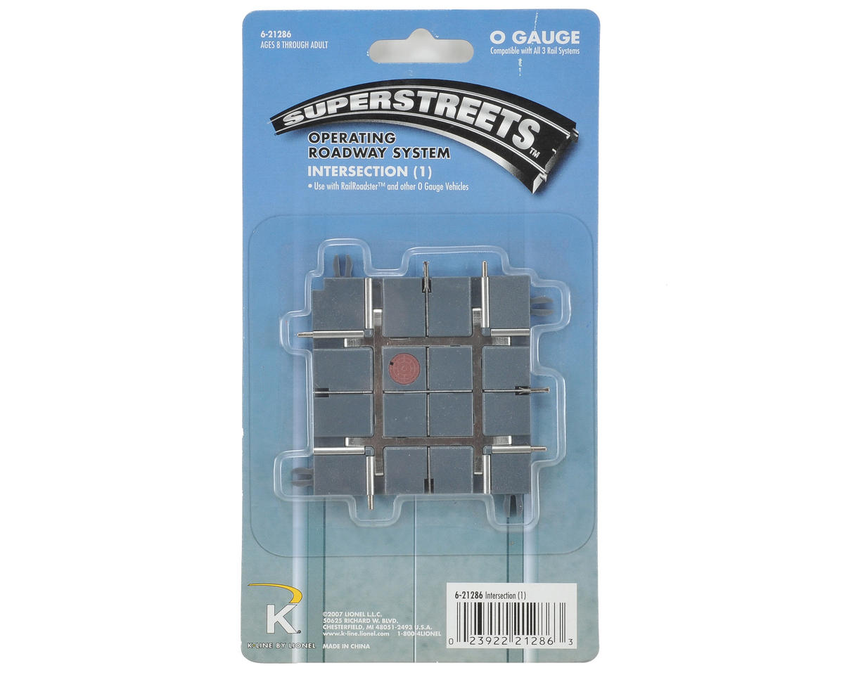 Lionel O SuperStreets Intersection