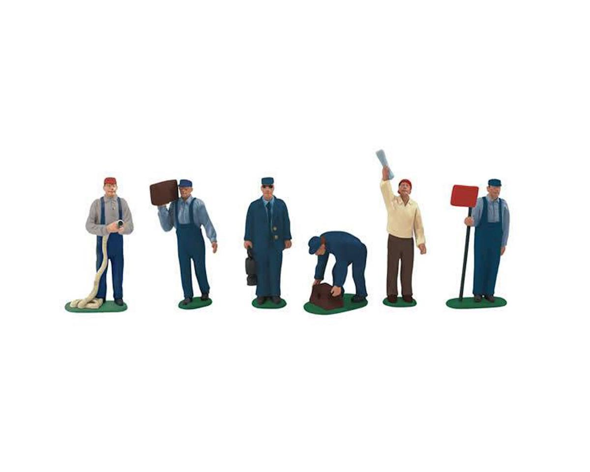 O Railroad Yard People (6) by Lionel