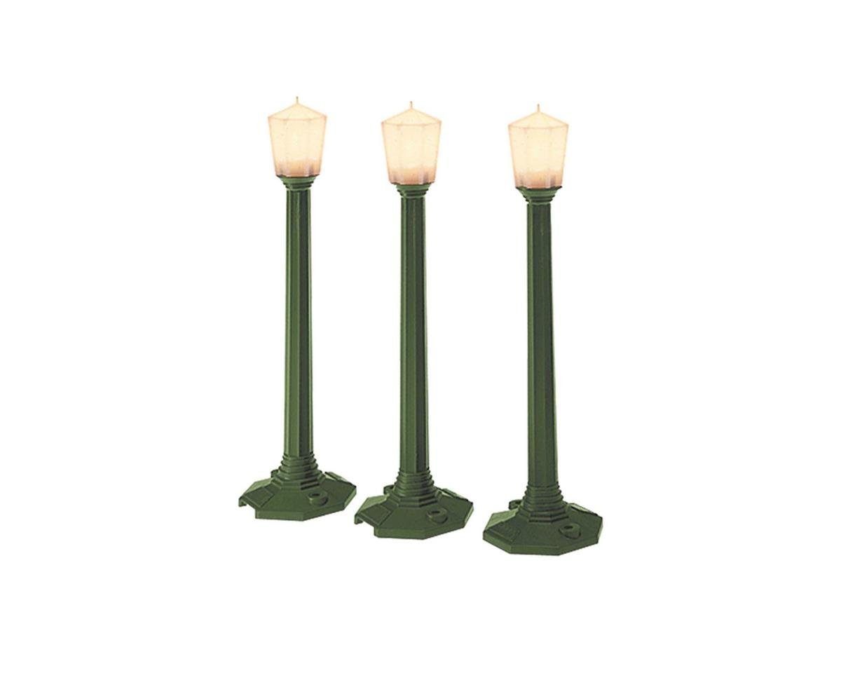 Mainline Classic Street Lamp Green (3) by Lionel