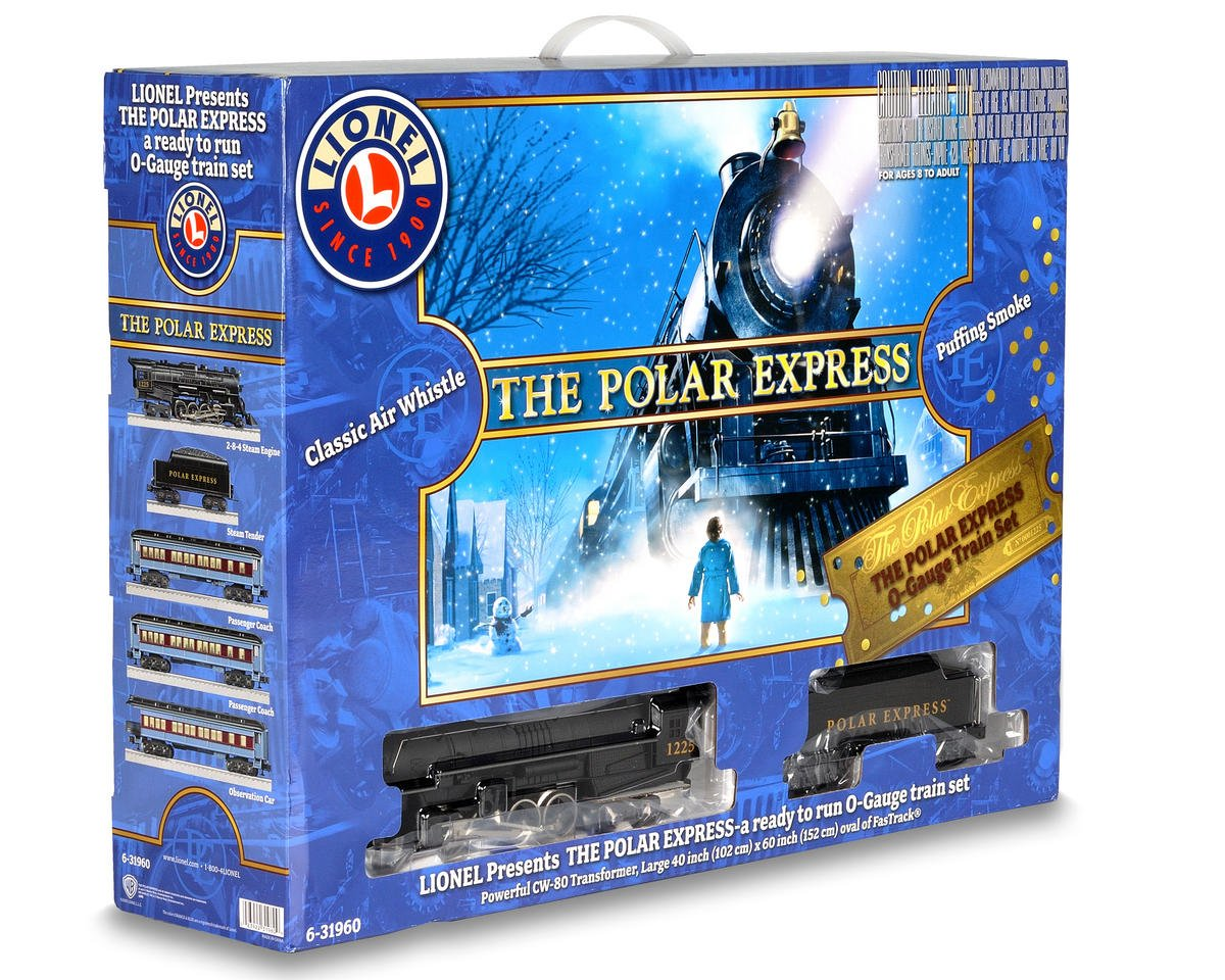 Lionel O-27 Polar Express Model Train Set