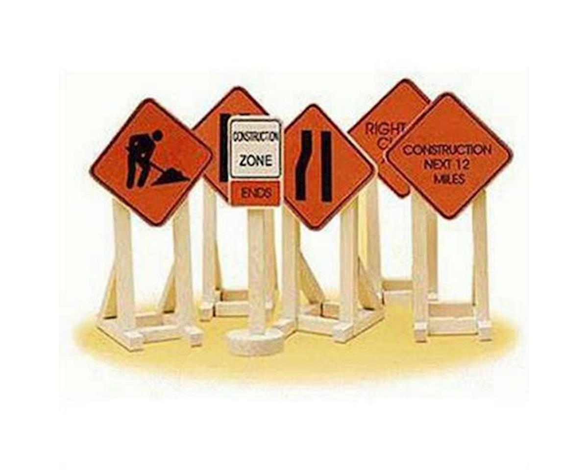 Lionel O Construction Signs (6)