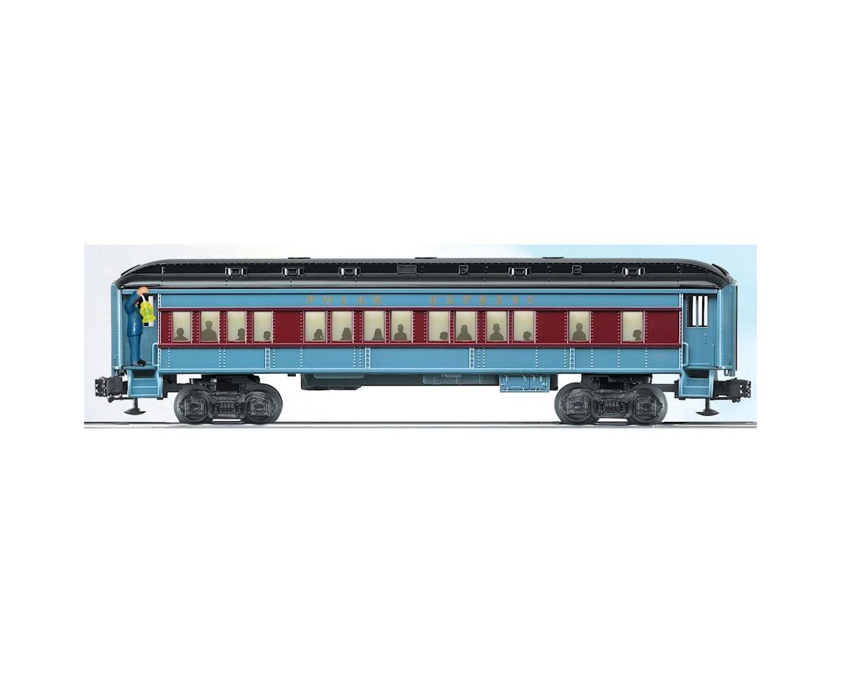 Lionel O-27 Coach w/Conductor Announcement, Polar Express