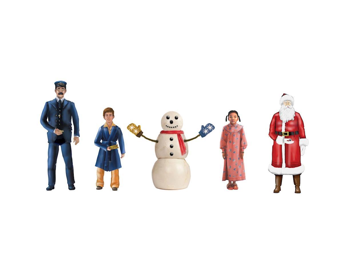 Lionel O Pewter Snowman & Children, Polar Express/10th