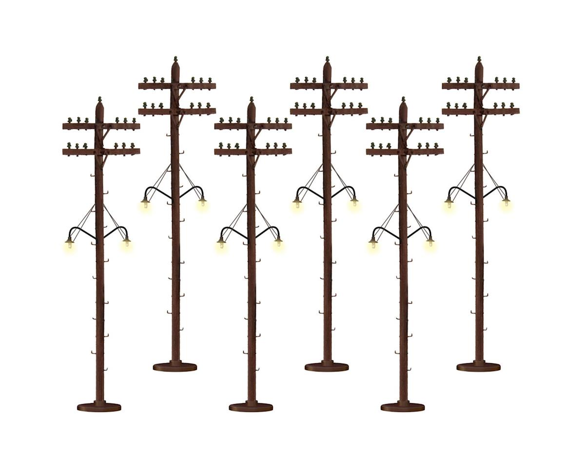 O Lighted Telephone Poles by Lionel