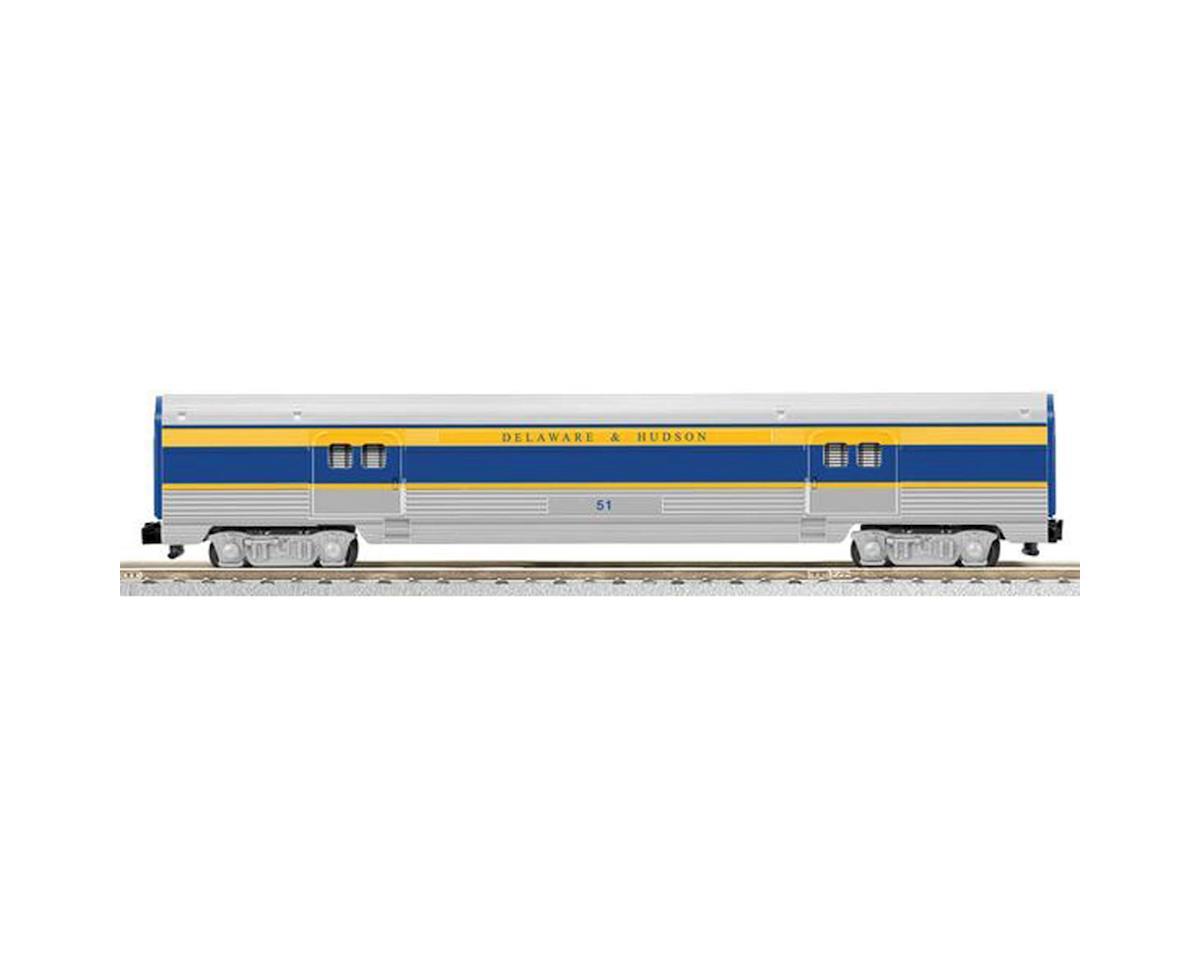 Lionel S AF Streamline Baggage/Observation, D&H