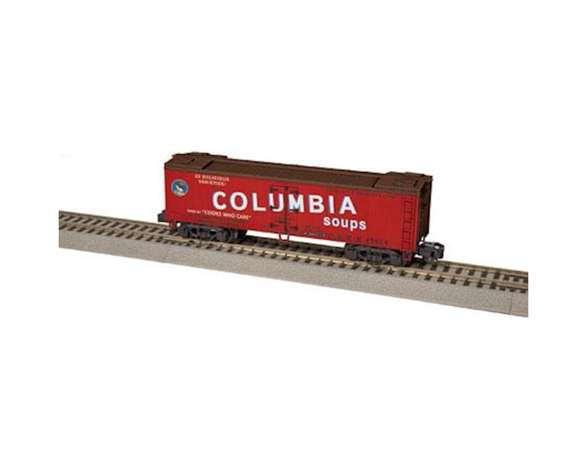 S AF Woodsided Reefer, Columbia Soups by Lionel