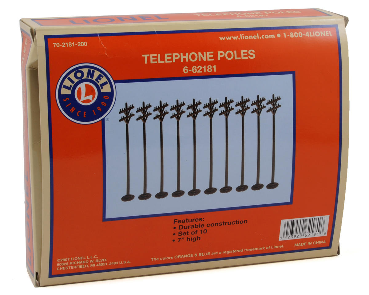 Lionel O-27 #150 Telephone Pole (10)
