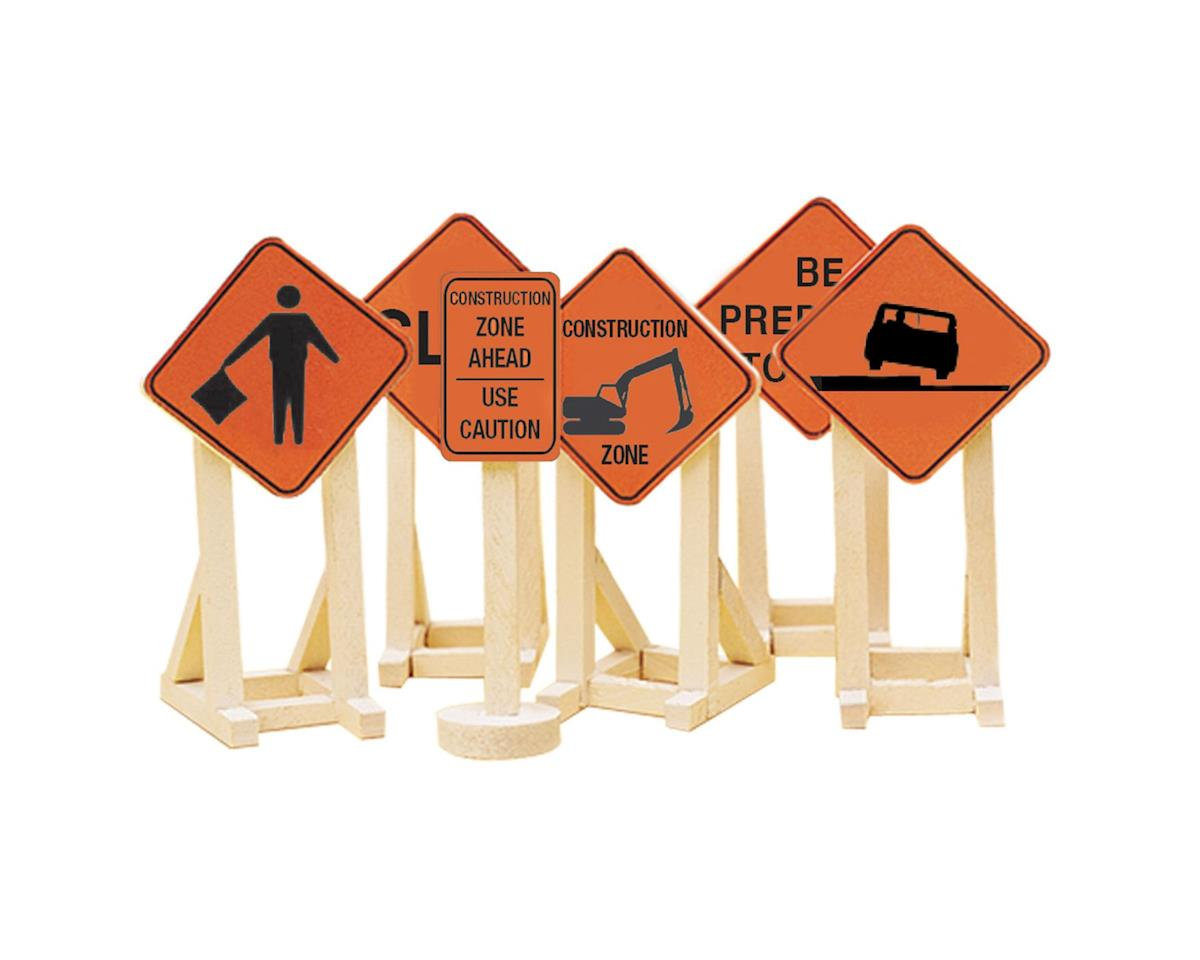 Lionel NYA O Construction Zone Signs #2