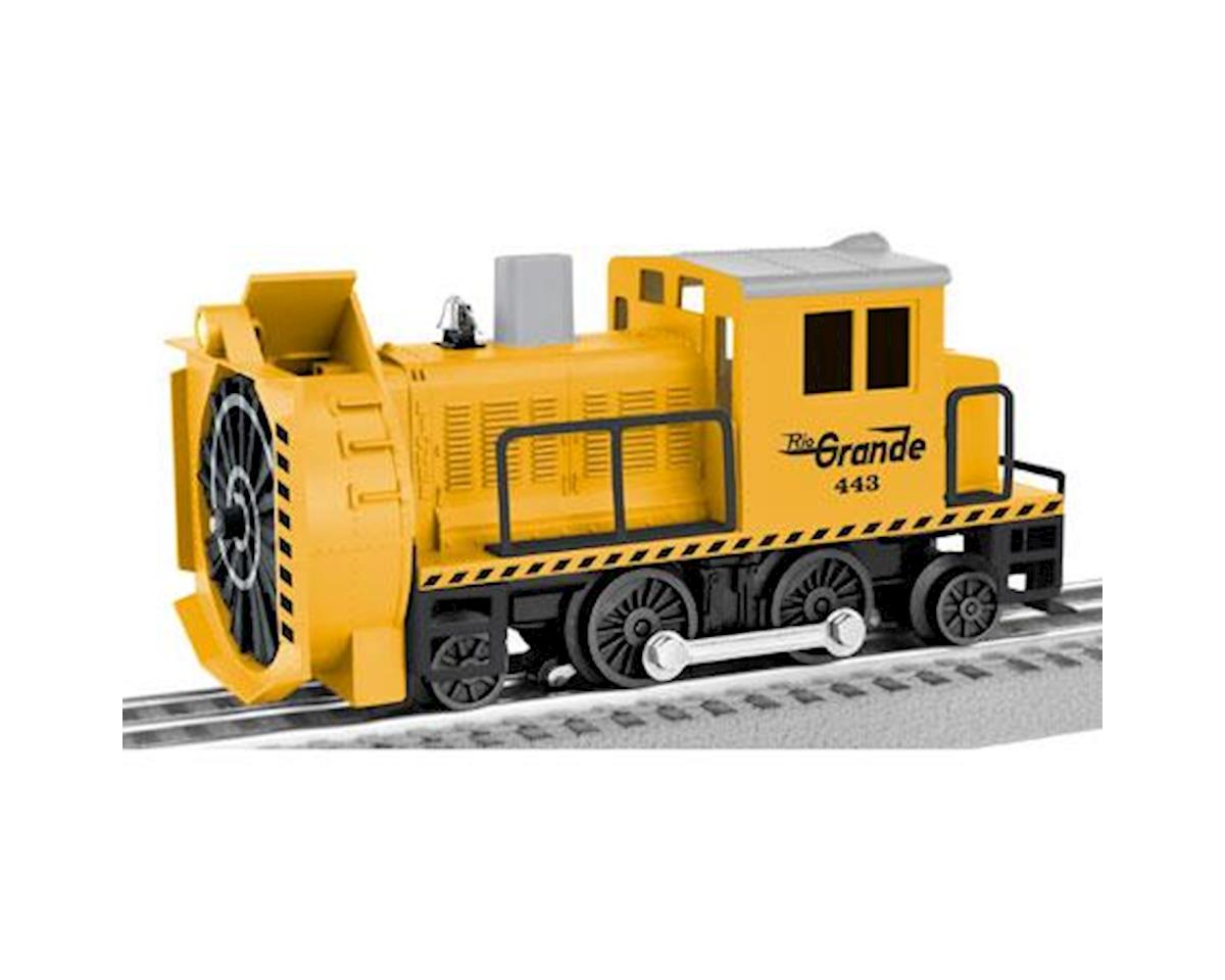 Lionel O-27 Command Control Rotary Snowplow, D&RGW