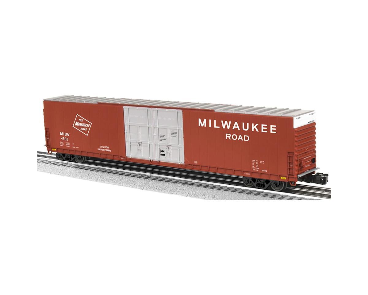 Lionel O 86' Hi-Cube Box, MILW (2)
