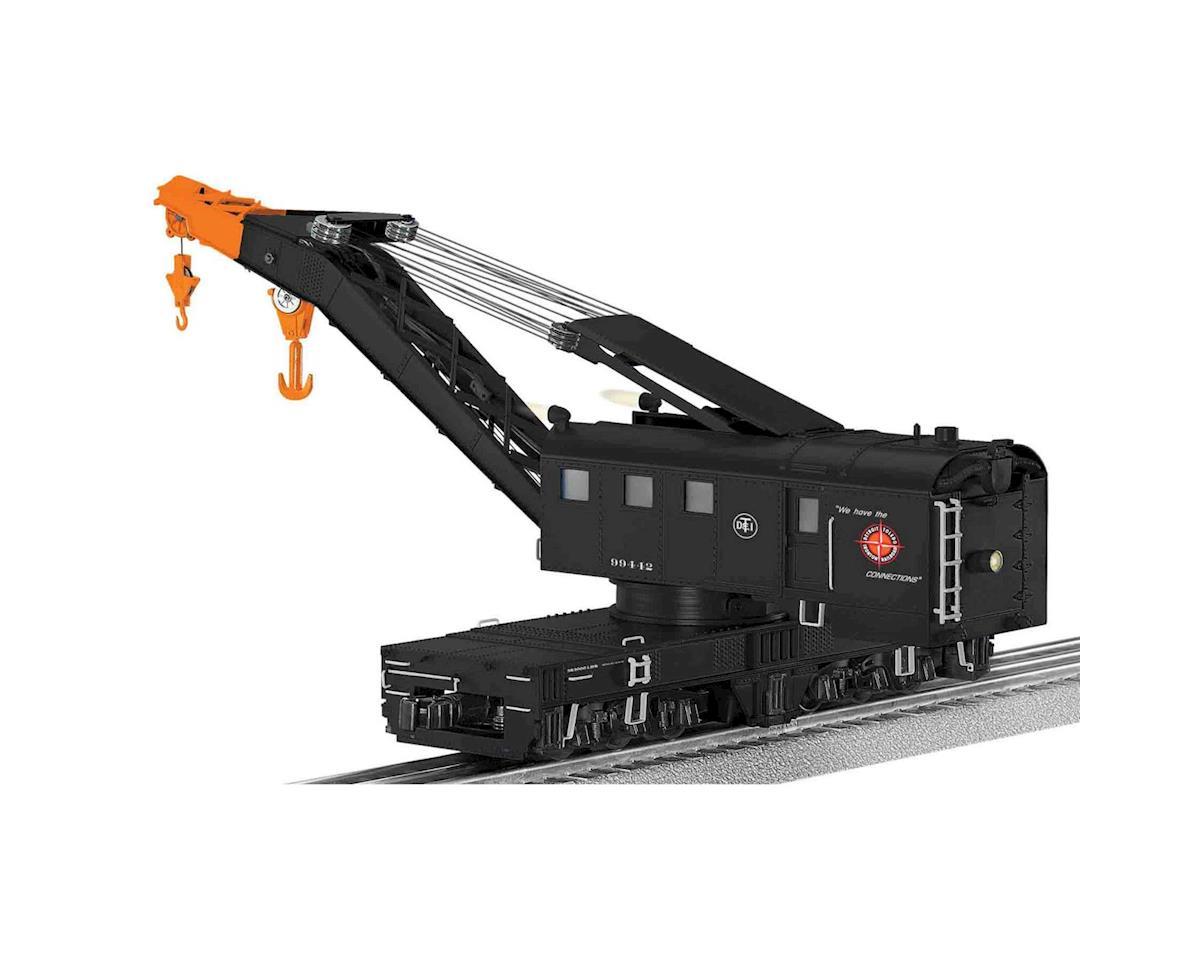 Lionel O Opr Command Control Crane Car w/Legacy, DT&I