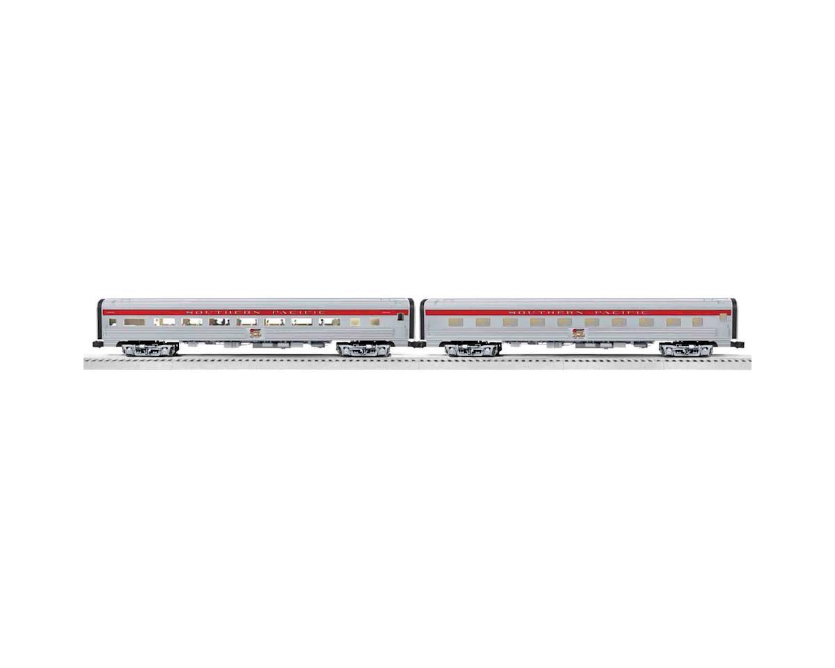 "Lionel O-27 18"" Aluminum Sleeper & Coach, SP"