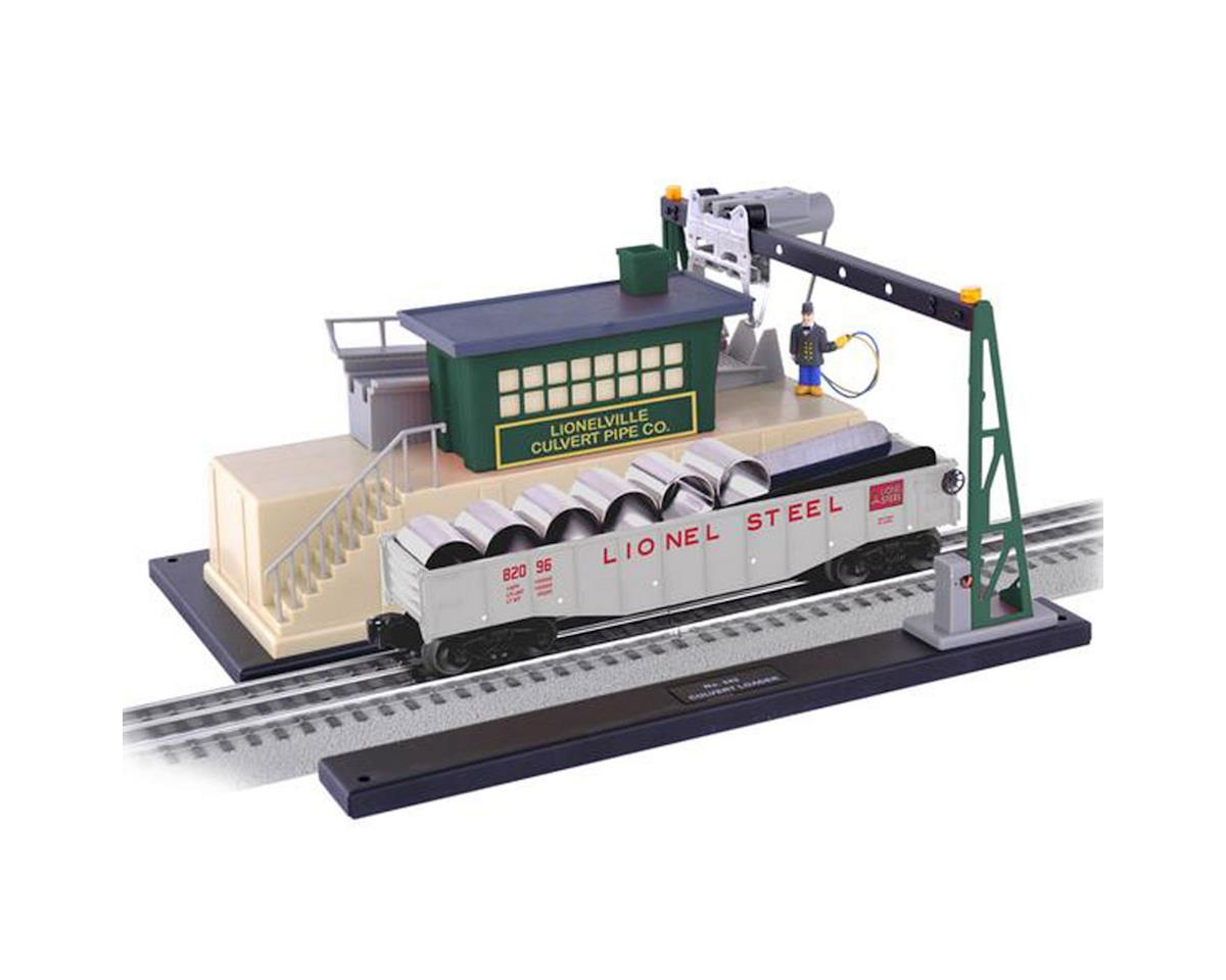 Lionel O Command Controlled Culvert Loader